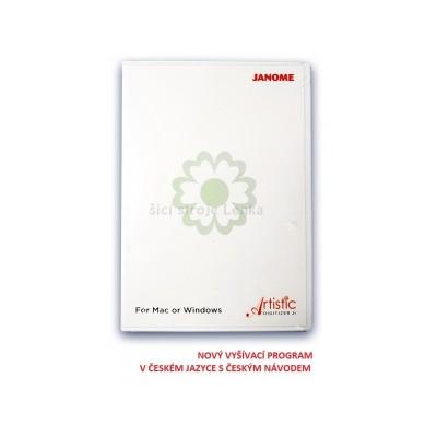Vyšívací program JANOME DIGITIZER JR